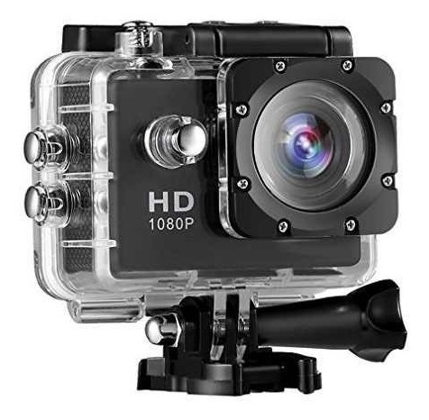 camara video full hd 1080p sumergible 30 mts moto deportes