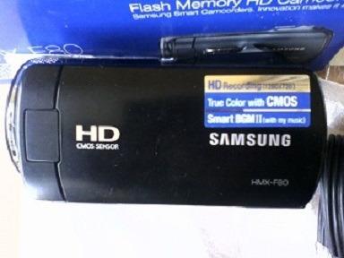 camara video grabadora samsung hmx-f80