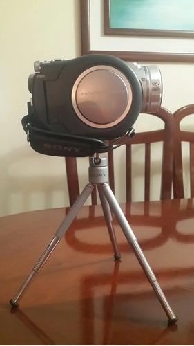 camara video grabadora sony handican  mini disco dcr 505