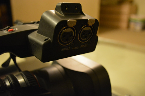 cámara video panasonic