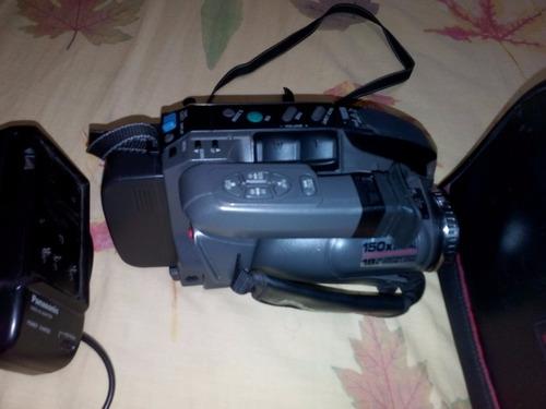 camara video panasonic pv-l550d con cassette para repuesto