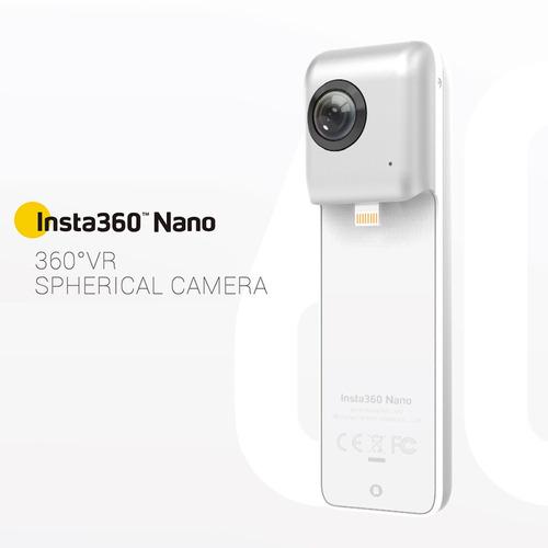 cámara vídeo panorama panorámico nano 3k hd vr 360 de insta3