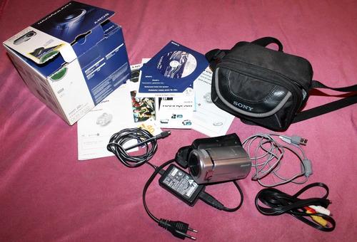 camara video sony dcr-sr45 disco duro handycam 30 gb