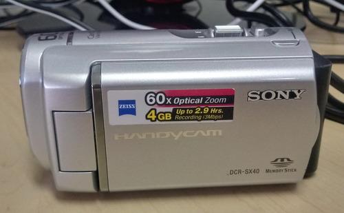 camara video sony handycam dcr-sx40 4gb