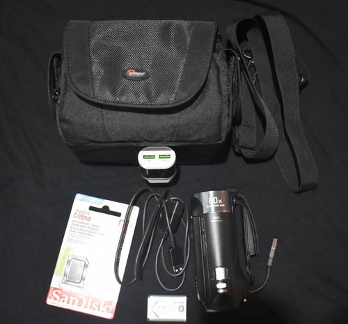 cámara video sony hdr-cx405 + accesorios