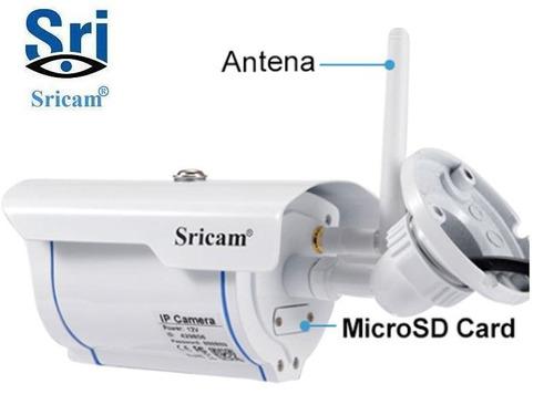 camara vigilancia exterior ip wifi hd poe sricam sp007 128gb