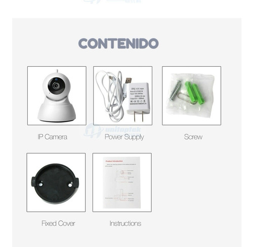 camara vigilancia wifi vision nocturna, deteccion de movi