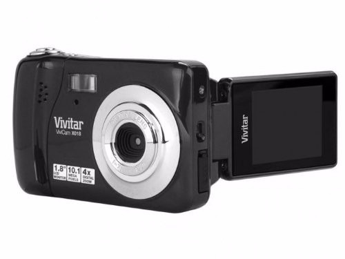 camara vivitar vivicam x018 - black (vx018-blk)