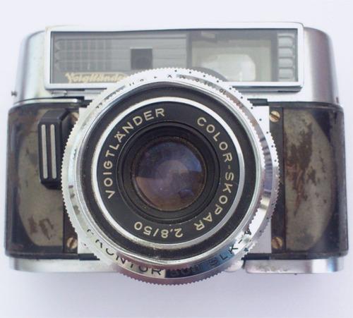 camara voigtlander color skopar 2.8/50 camara antigua colecc
