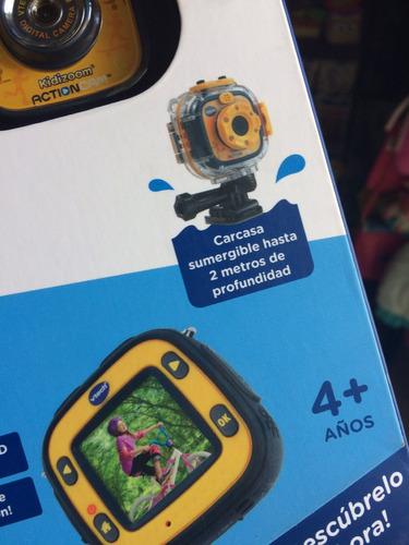 cámara vtech para niños. sumergible y más