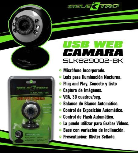camara web 8 megapixel con vision nocturna somos tienda