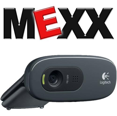 camara web cam logitech c270 720p hd mic skype 3mpx mexx 2