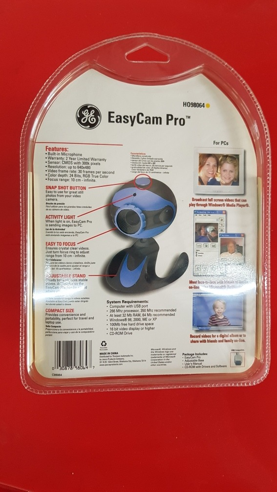 NEW DRIVER: EASYCAM PRO H098064