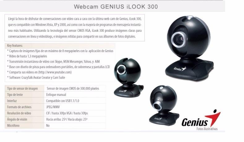 Genius iLook 300 Driver Download