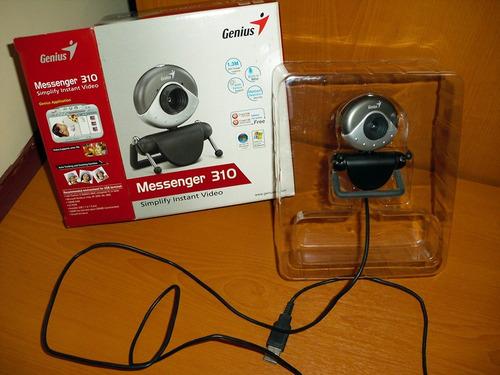 cámara web genius mess310 de 1.3 mp windows..!! gran oferta!