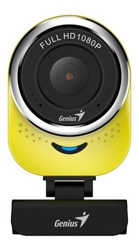 camara web genius qcam 6000 amarillo hd 1080p usb2.0 micr /v