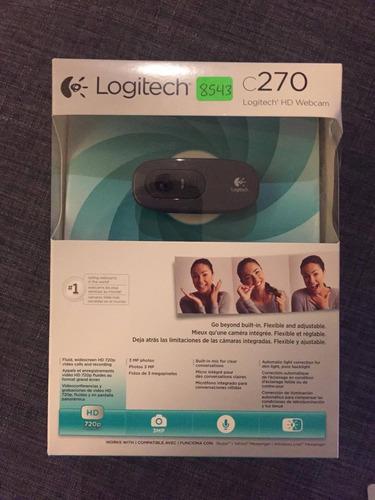 camara web hd logitech c270