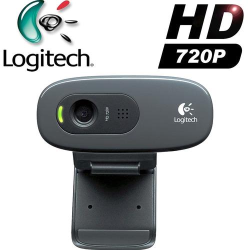 camara web logitech c270 1280x720 3mp microf hd720p