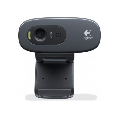 camara web logitech c270 - hd 720p micrófono integrado