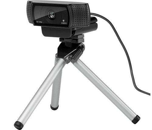 camara web logitech c920 full hd pro 1080p 15mpx