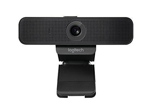 cámara web logitech c925-e con video hd y micrófonos estéreo