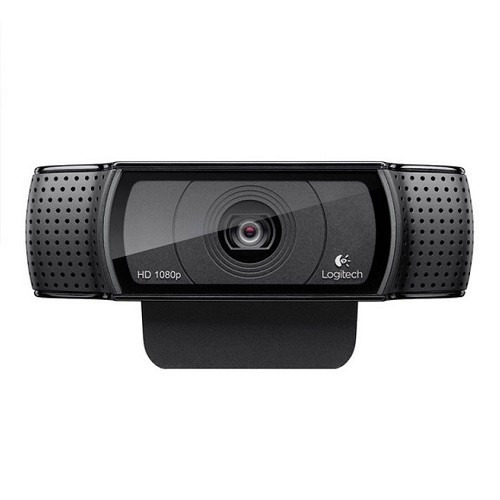 cámara web logitech hd pro c920 full hd 1080p usb