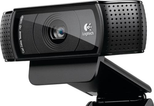 cámara web logitech hd pro webcam c920