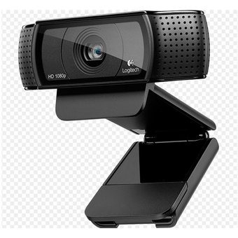 cámara web logitech hd pro webcam c920 · video full hd 1080p