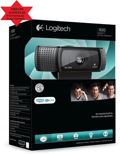camara web logitech pro hd c920