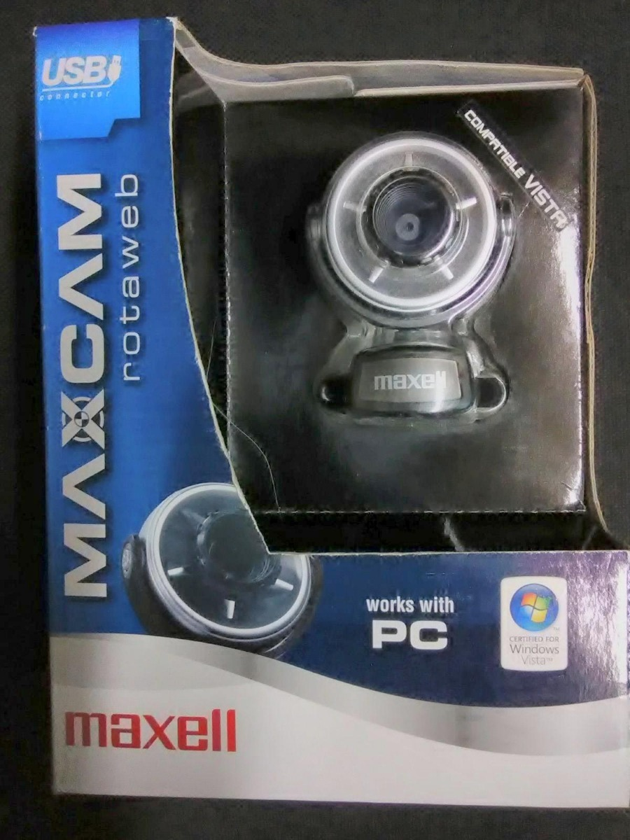 MAXELL WEB CAMERA DRIVERS FOR WINDOWS VISTA