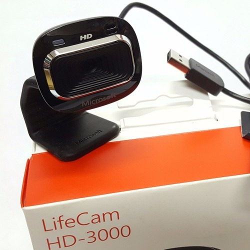 camara web microsoft hd3000 + envío gratis