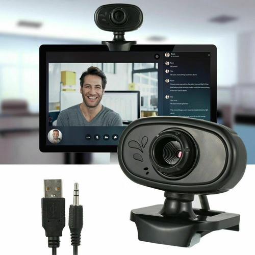 camara web para computadora pc, 720p y hd microfono incluido