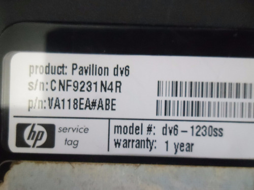 camara web para notebook hp dv6 1230ss webcam