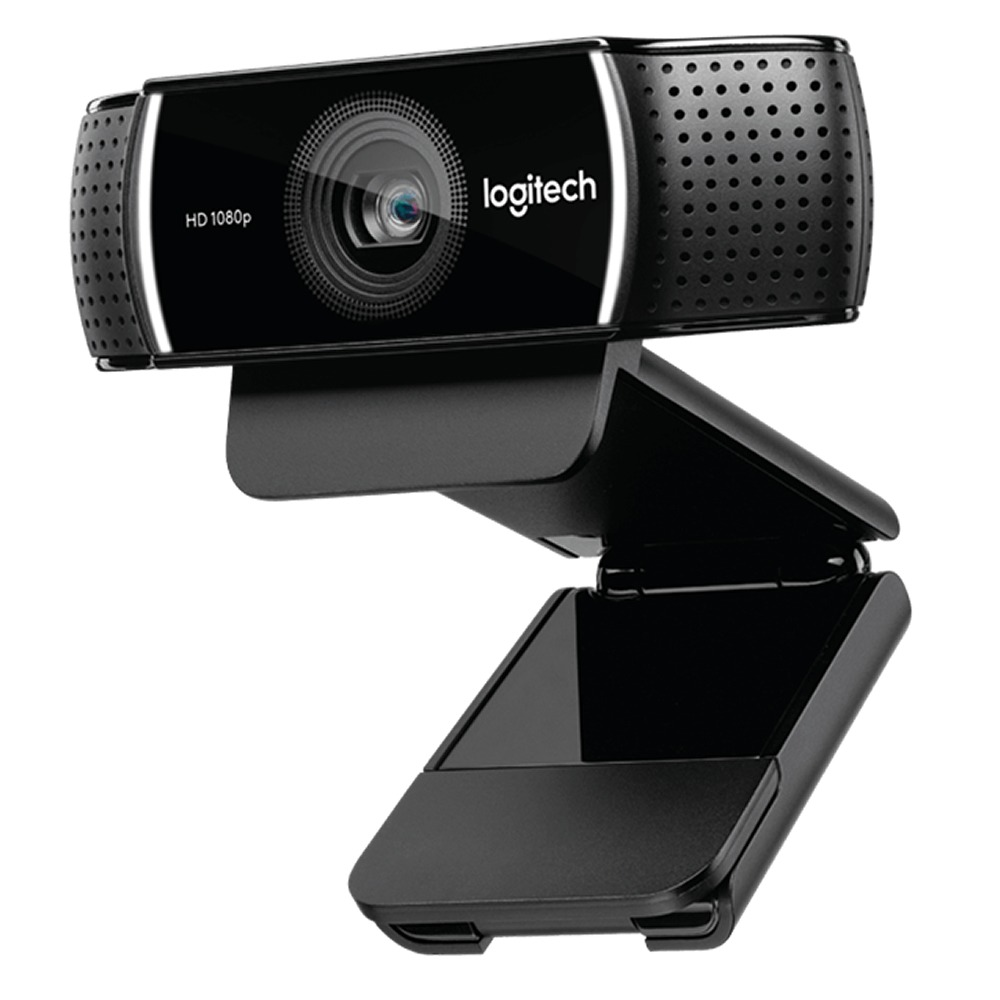 Camara Web Video Logitech C922 Conferencias Sream 1080