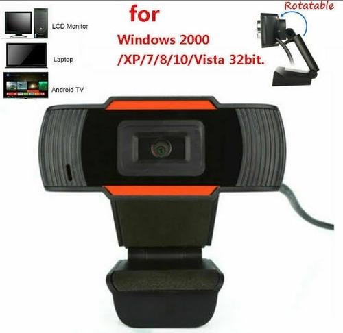 camara web webcam con microfono hd buena imagen videollamada