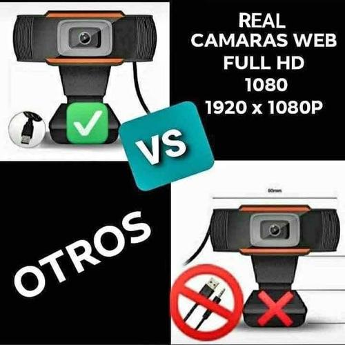 cámara web webcam de 1080p full hd con microfono preventa