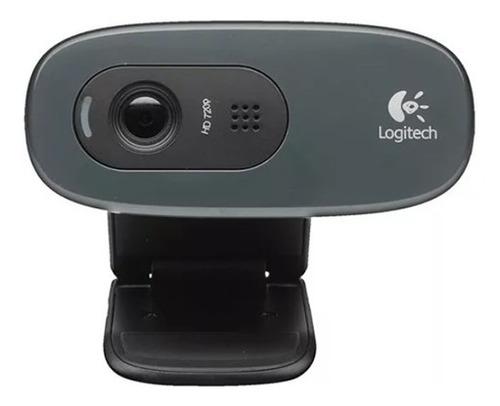camara web webcam logitech c270 hd 720p usb youtube twitch
