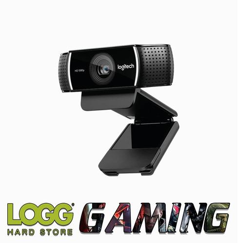 camara web webcam logitech c922 pro full hd tripode logg