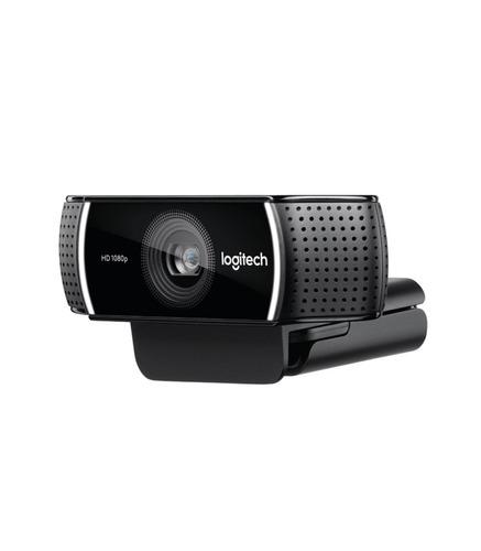 camara web webcam logitech c922 pro stream 1080p tripode
