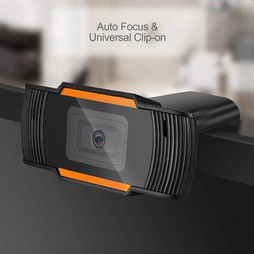 camara web webcam microfono usb pc laptop zoom videos fotos