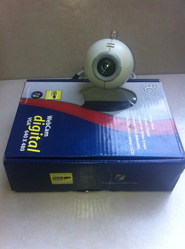 cámara webcam digital vga 640 x 480