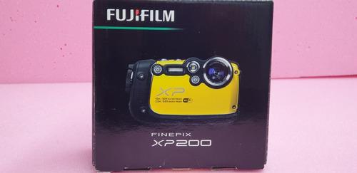 camara wifi fujifilm xp200 soporta agua,polvo,golpes