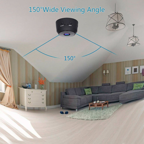 cámara wifi inalámbrica  visión nocturna  micrófono 1080p