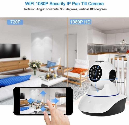 camara wifi ip de 5 antenas robotica full hd
