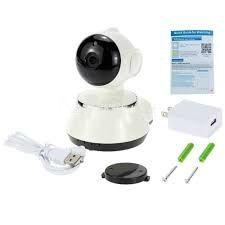 cámara wifi ip mini robótica video audio inalámbrica 355grad