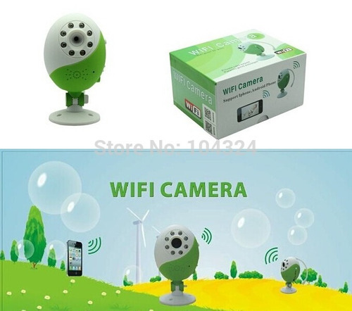 camara wifi seguridad monitoreo web iphone android hd 720p