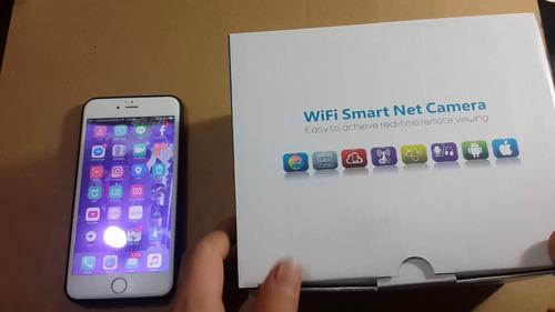 cámara wifi smart net  v380 360 grados de rotación