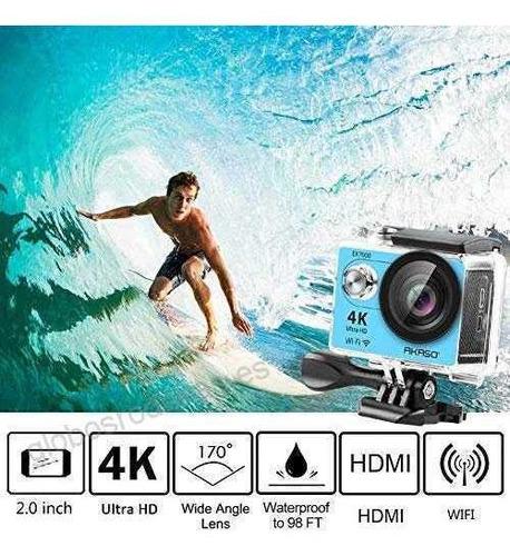 camara wifi video 4k ultra hd 16mp deportes agua