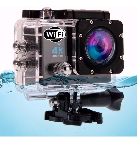 camara wifi video 4k ultra hd 16mp deportes agua + obsequio