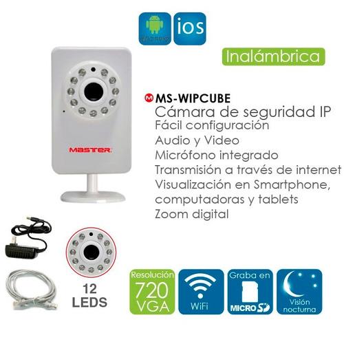 C mara wireless de seguridad ip direccional ms wipcube - Camara de seguridad ip ...